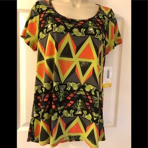 Disney LulaRoe Kermit Top Small New With Tag